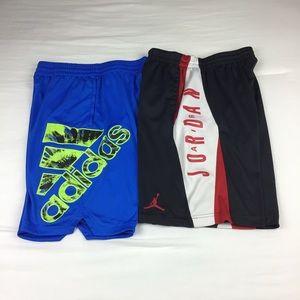 Boys Athletic Shorts Adidas/Jordan